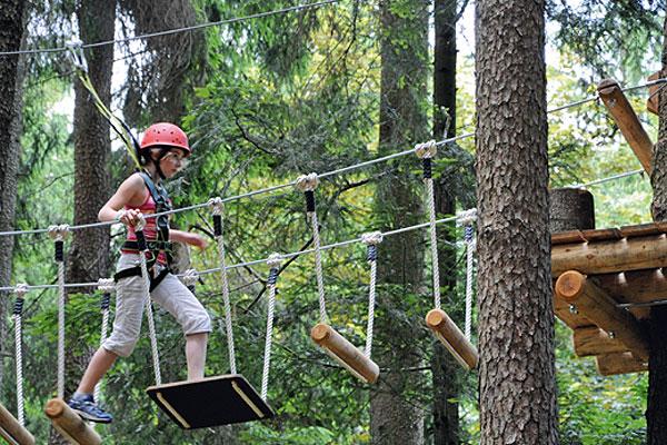 Oberreith - Wildfreizeitpark und Waldseilgarten