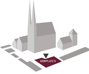 Dom St. Peter - Lageplan
