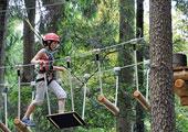 Wildfreizeitpark und <br />Waldseilgarten Oberreith