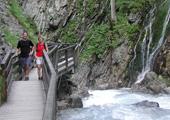 Wimbachklamm<br />Tourist-Information Ramsau