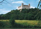 Willibaldsburg mit Bastionsgarten <br />Eichstätt