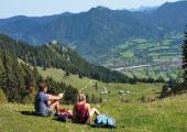 Lenggries_Brauneck_Wallbergbahnen_Wanderer