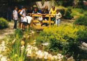 Miniaturgolf-Garten