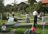 Minigolfanlage im LGS Park