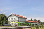 NaturparkWelten Grenzbahnhof<br />Eisenstein